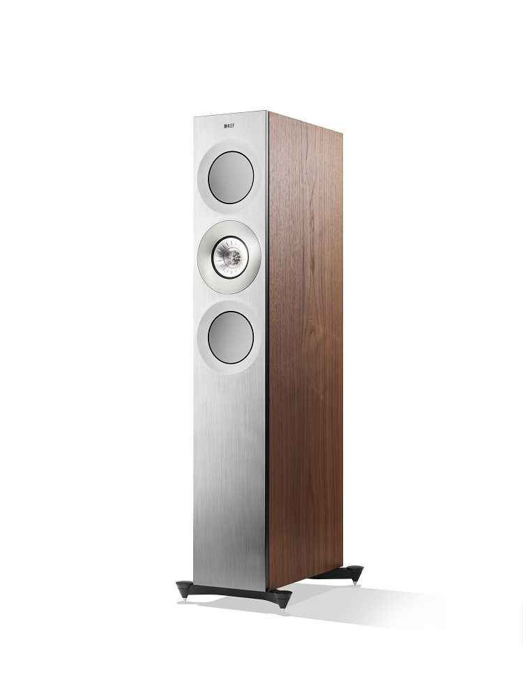 KEF Reference Silver Satin Finish