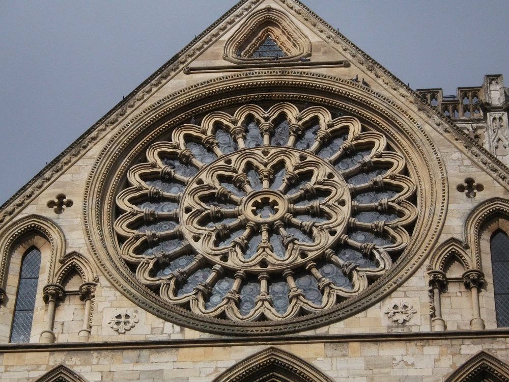 Rose Window, York, England
