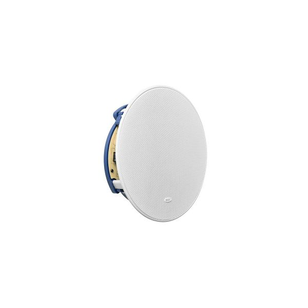 KEF Ci200.2CR Round In-Ceiling Speaker Font Side