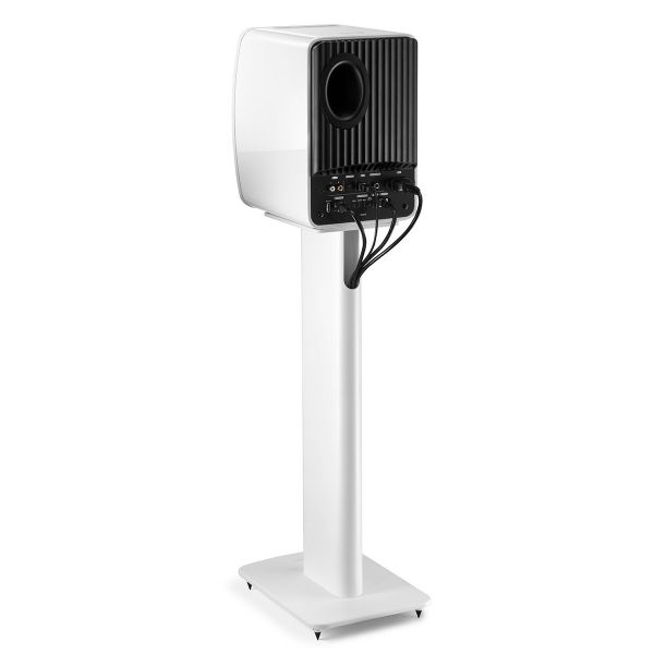 KEF Performance Speaker Stand White Back