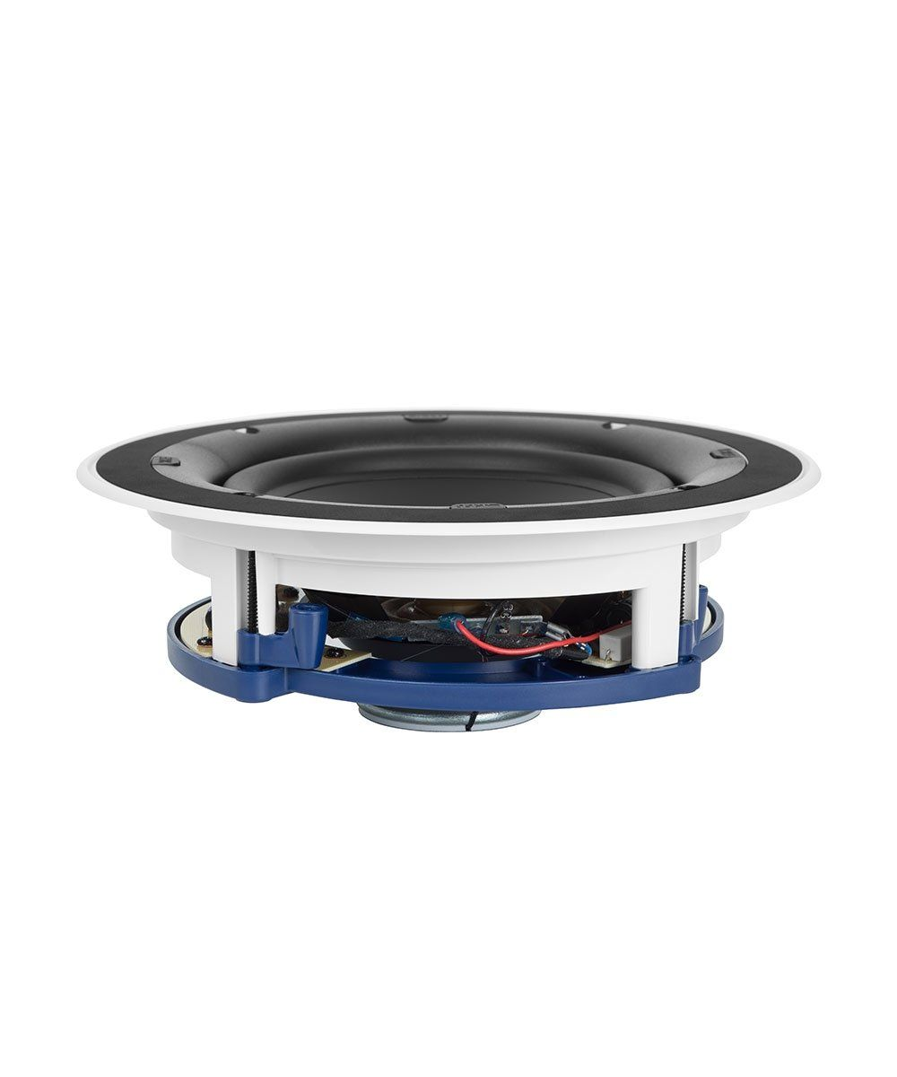 KEF Ci160.2CR Round In Wall/ Ceiling Speaker Side No Grille