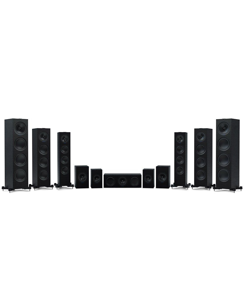 KEF Q Series Group Shot Black