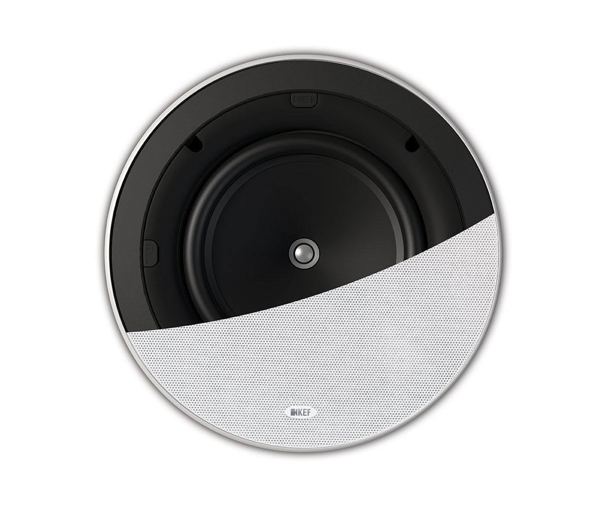 Ci200ER In Ceiling Dolby Atmos Speaker Half | KEFDirect