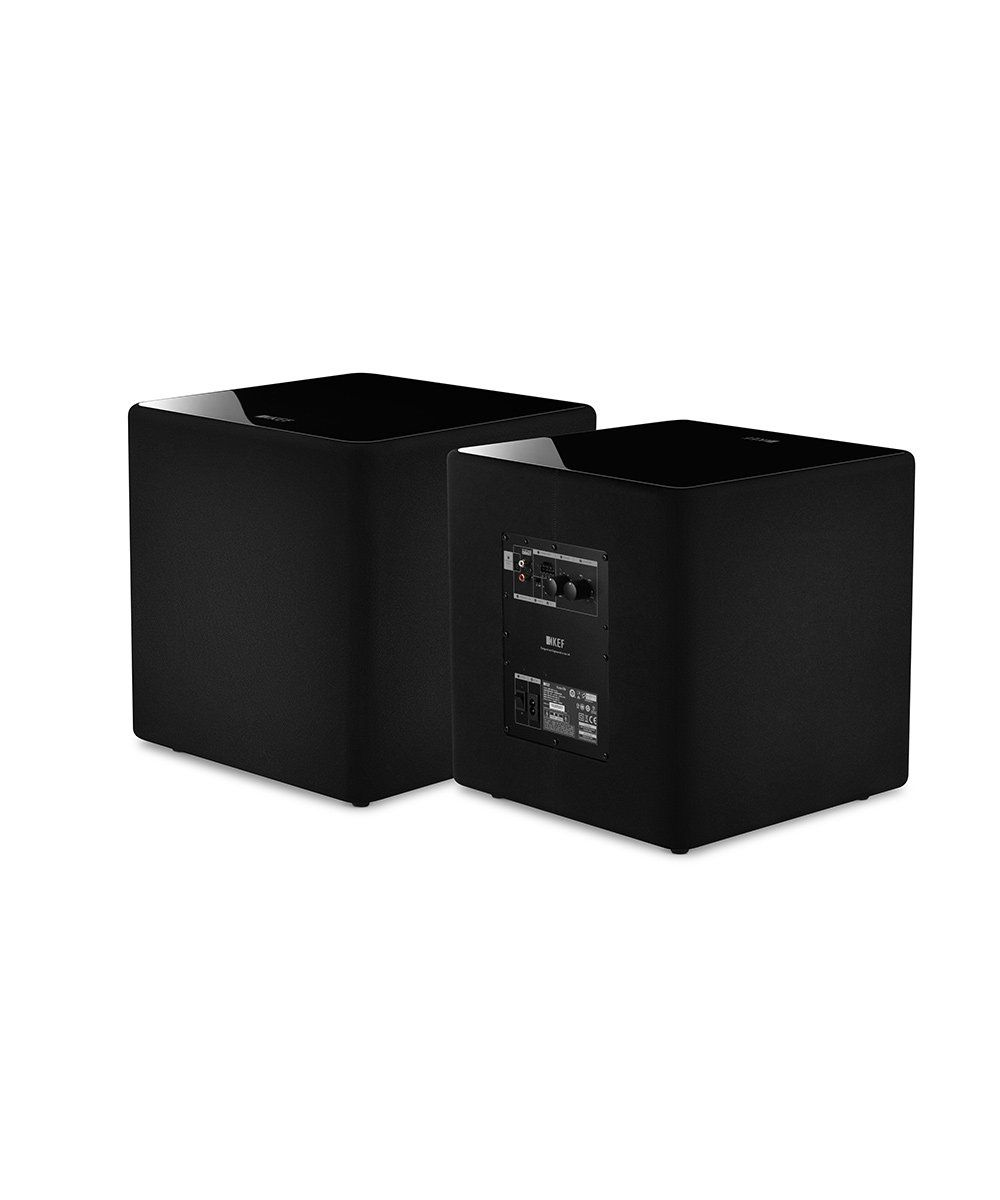 KEF KUBE 10b Compact High Performance Subwoofer Side