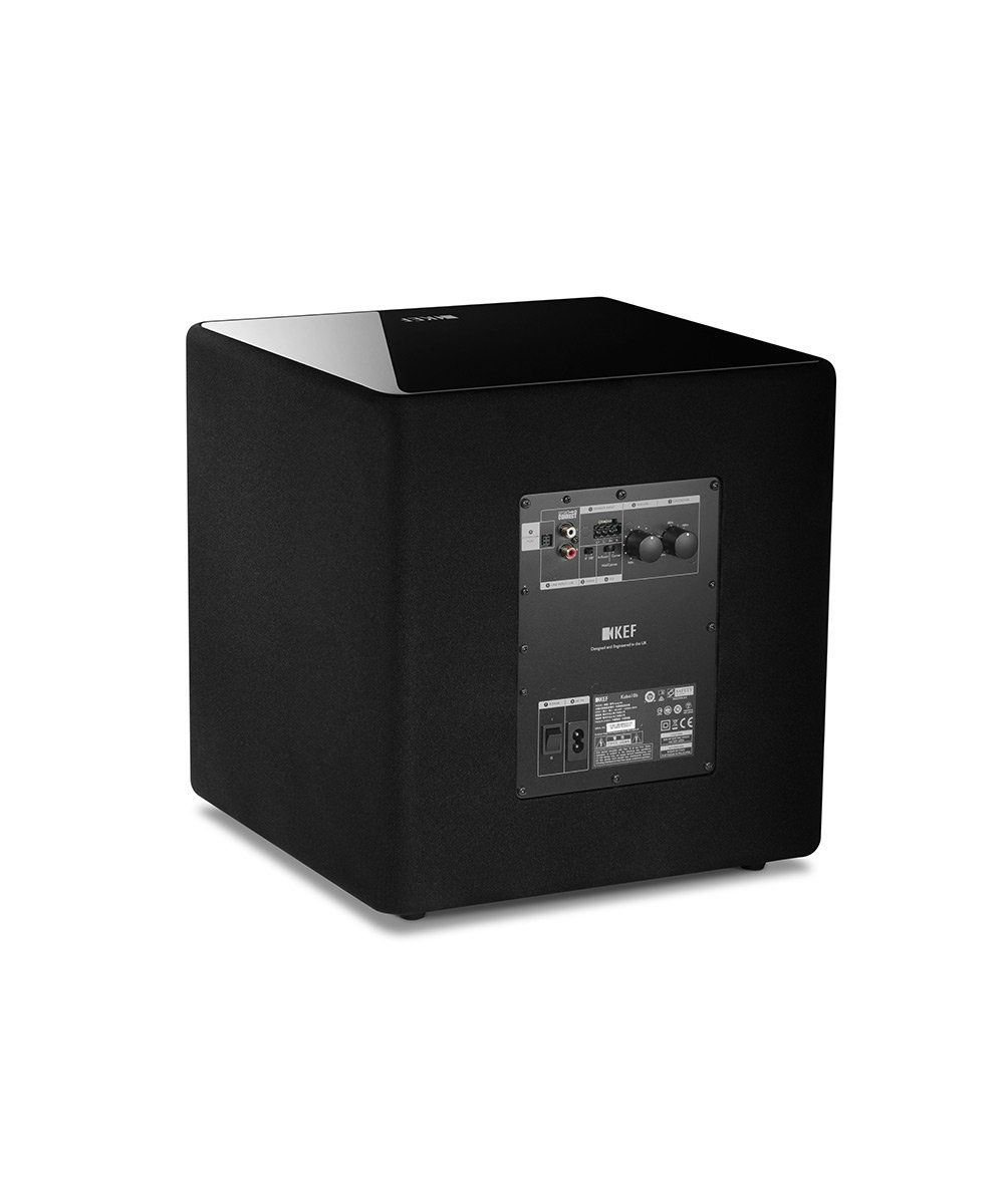 KEF KUBE 10b Compact High Performance Subwoofer Back