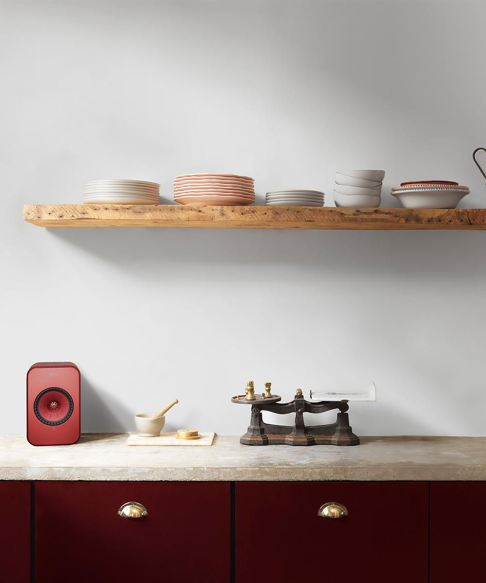 KEF LSX Wireless speakers, stream music to every room of your house, great for bedroom, kitchen, office, or living room.