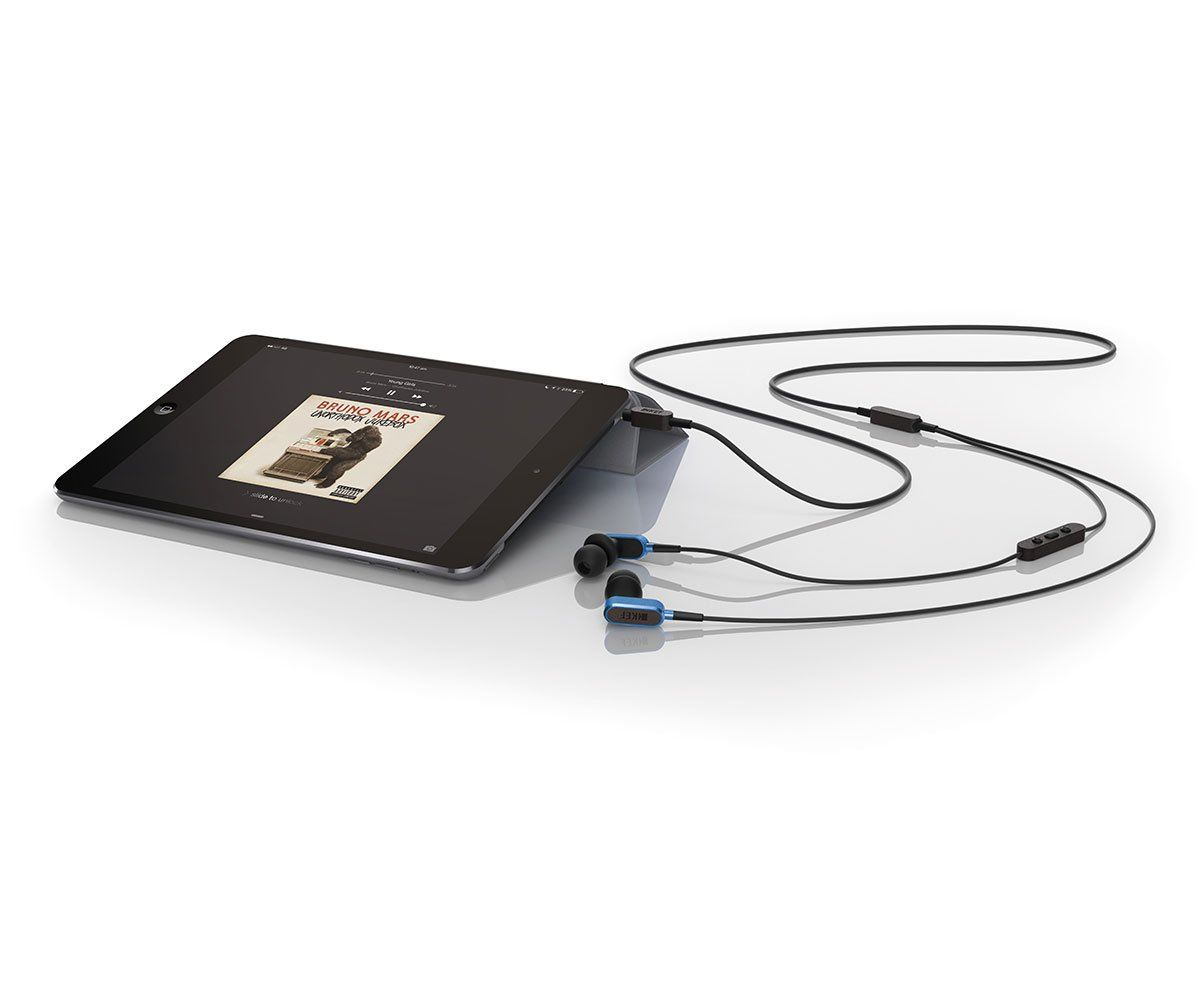 KEF M100 In-Ear Headphones With Ipad