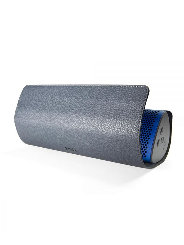 KEF Muo leather cover rolled