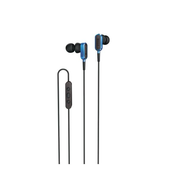 KEF M100 In-Ear Headphones in Racing Blue