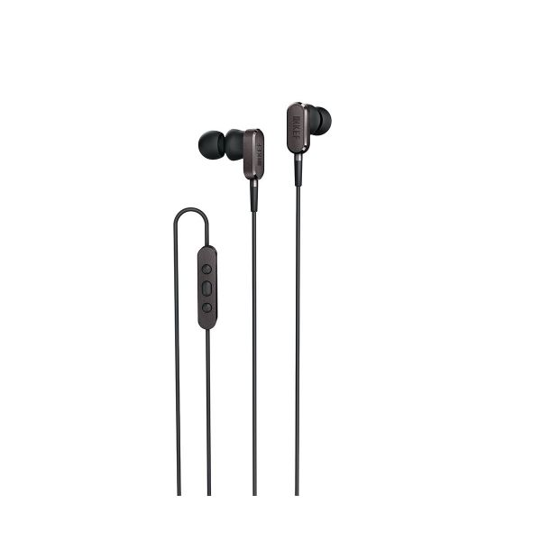 KEF M100 In-Ear Headphones in Titanium Grey
