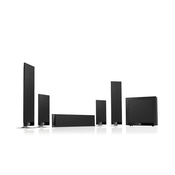 KEF T205 UltraThin Speakers Black