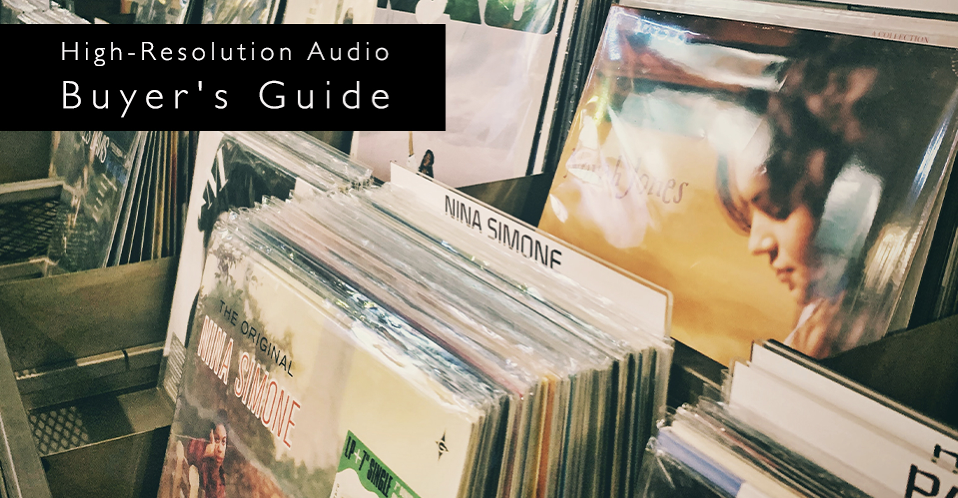 Buyer's Guide to High-Resolution Audio