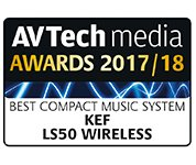 KEF LS50 WIRELESS AV Tech Awards