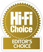 Editor's Choice Award HiFi Choice KEF LS50 Wireless