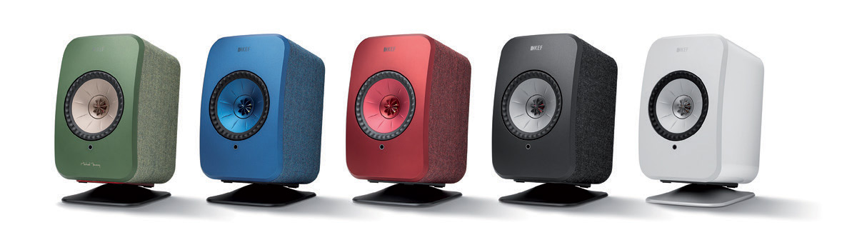 KEF LSX Speaker Desk Stands all colors.