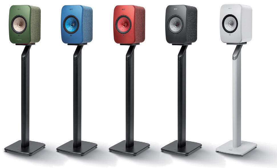 KEF S1 Floorstands for LSX Wireless Speakers in all finishes.