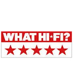 What Hi-Fi? Sound & Vision 5 star review LS50 Mini Monitor Speaker Pair