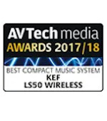Best Compact Music System Award AV Tech Awards KEF LS50 Wireless