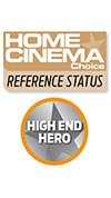 Home Cinema Choice Reference Status, High End Hero KEF REFERENCE 3